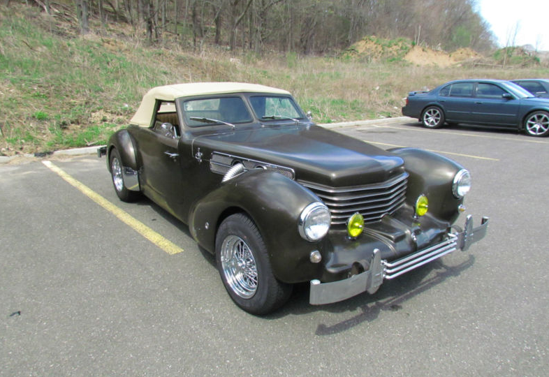 1969 Ford Mustang Becomes 1937 Cord 812 Autoevolution