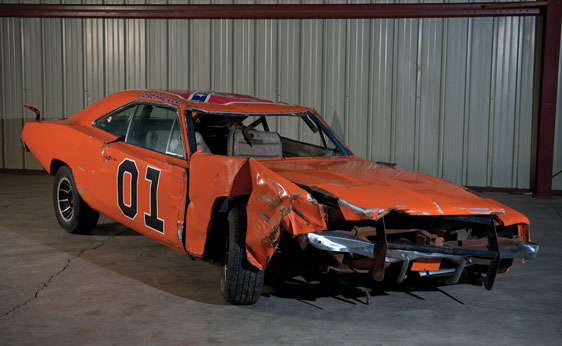 1969 General Lee Dodge Charger Up For Auction