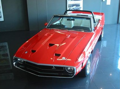 Corvette Convertible For Sale >> 1969 Shelby GT350 Convertible VIN #0001 For Sale: $495,000 - autoevolution