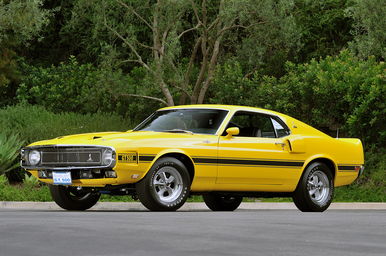 1969 Shelby GT500 Owned by Carroll Shelby Auctioned ...