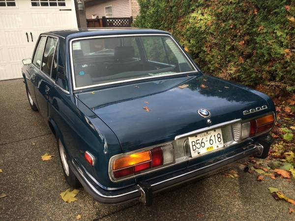1970 BMW 2800 Up for Grabs in Canada for just $5,700 ...