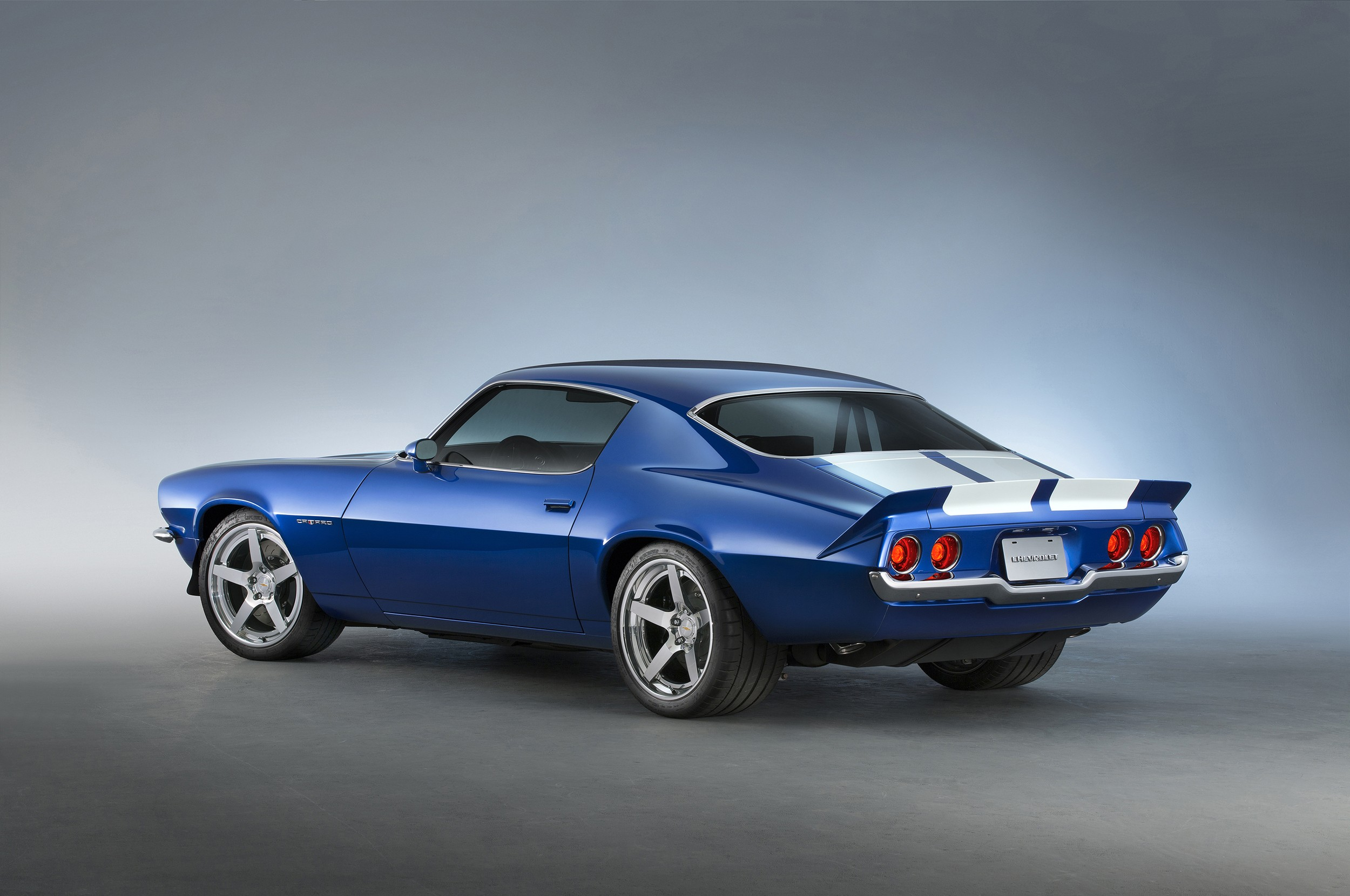 1970 Camaro Gets Corvette Z06 Lt4 Supercharged V8 As Crate