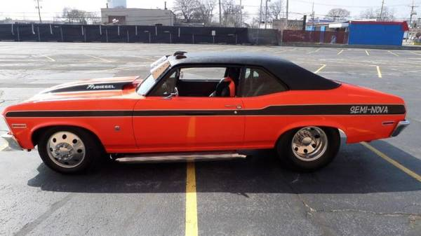 """1970 Diesel Chevy Nova """"Pro Diesel"""" Dually Is Craigslist's ..."""