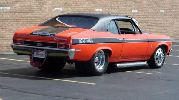 """Used Harleys For Sale >> 1970 Diesel Chevy Nova """"Pro Diesel"""" Dually Is Craigslist's ..."""