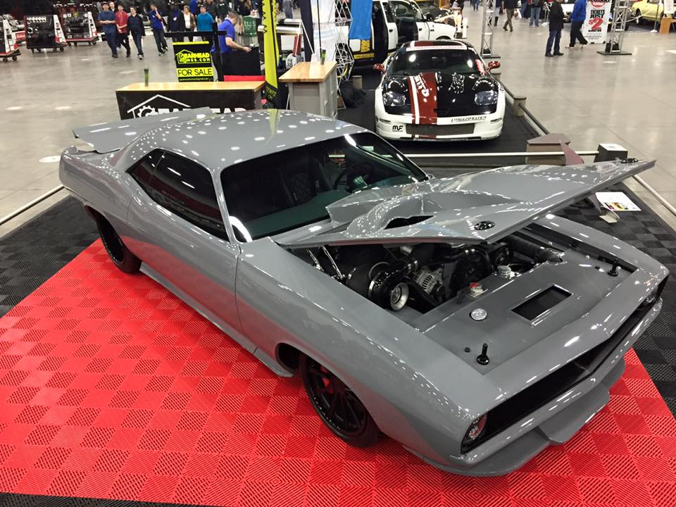 Plymouth Cuda Torc Has A L Cummins Diesel on 1971 Hemi Cuda Engine