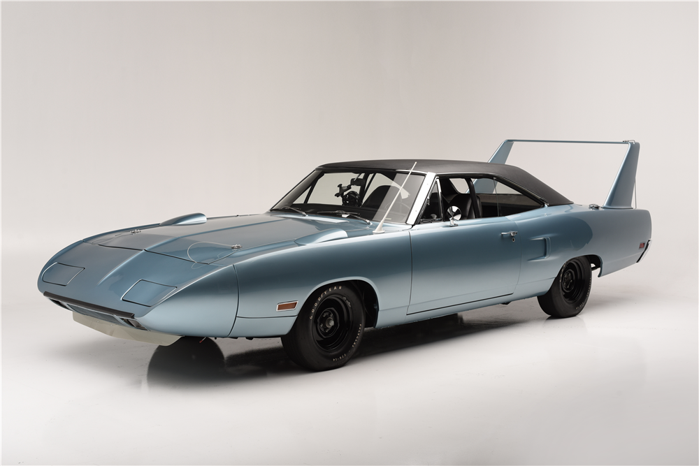 ... Putting Girls on the Wing of a Plymouth Superbird - autoevolution