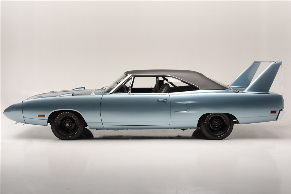 About Putting Girls On The Wing Of A Plymouth Superbird