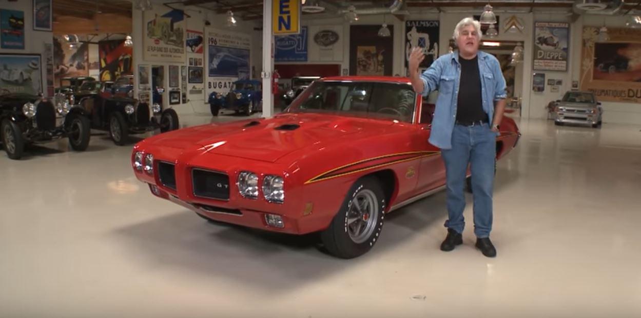 1970 Pontiac GTO Judge Lands in Jay Leno s Hands He Puts