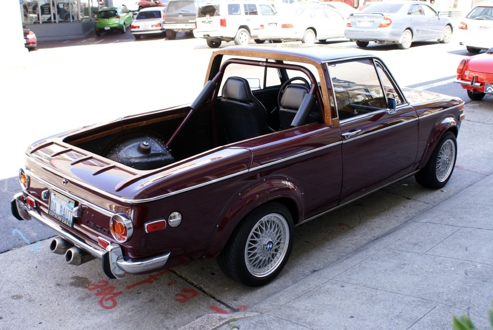 1971 BMW 1600 Is Bavarian El Camino  autoevolution
