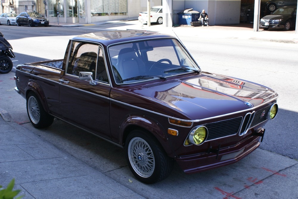 1971 Bmw 1600 Pickup Truck Anyone Autoevolution
