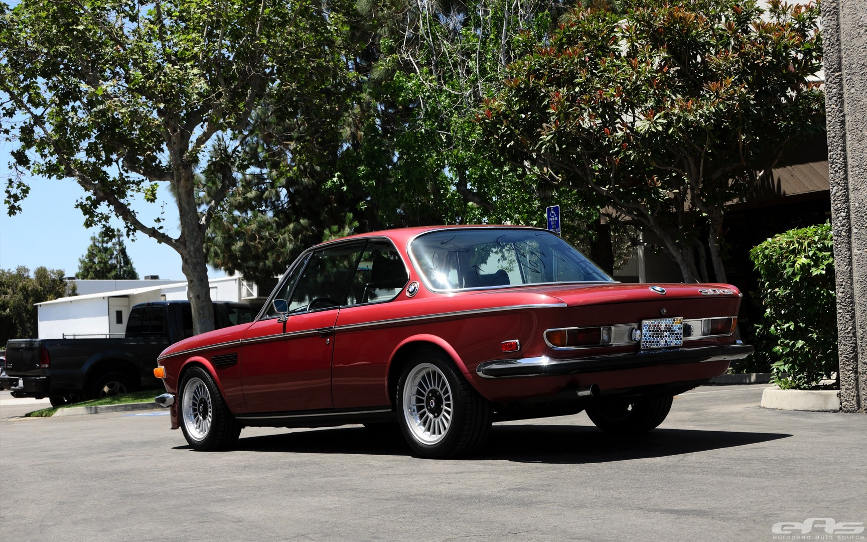 1974 Bmw 3 0cs Gets Lowering Springs Autoevolution