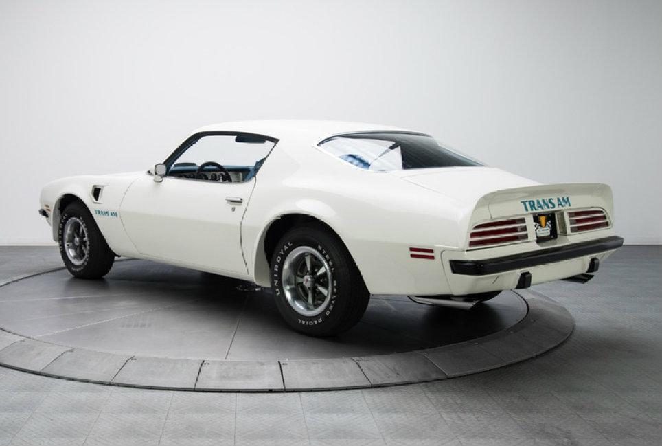 1974 Pontiac Firebird Trans Am Looks Great in Cameo White [Video ...