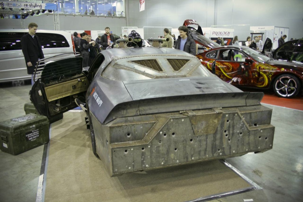 White Challenger Movie >> 1975 Chevrolet Camaro, Russian Death Race Car - autoevolution