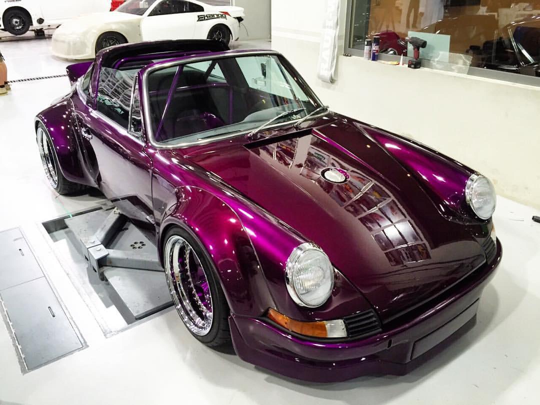 1975 Porsche 911 Targa Gets Rauh Welt Begriff Extreme