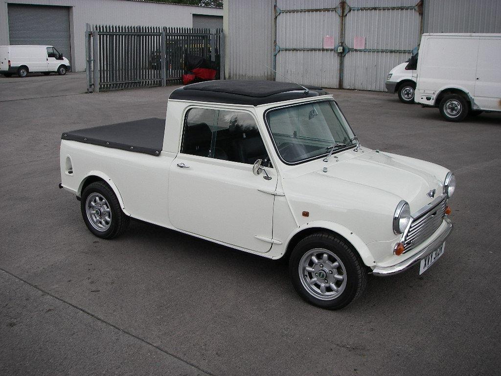 1977 mini pickup up for sale costs 18 936 autoevolution. Black Bedroom Furniture Sets. Home Design Ideas