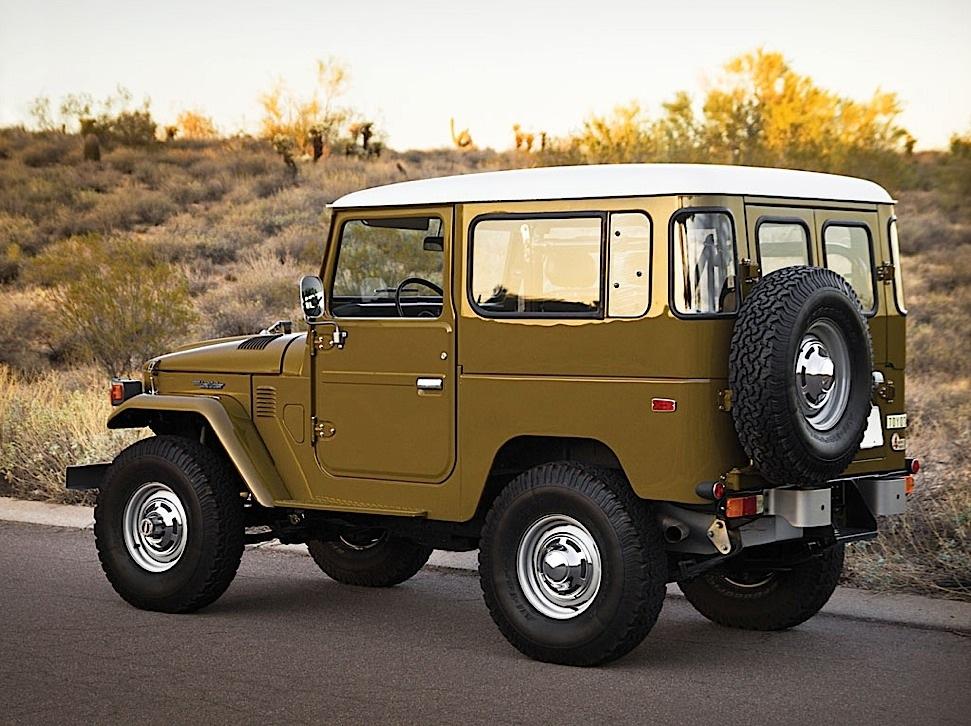 1977 Toyota Land Cruiser Fj 40 Sold For Over 100 000