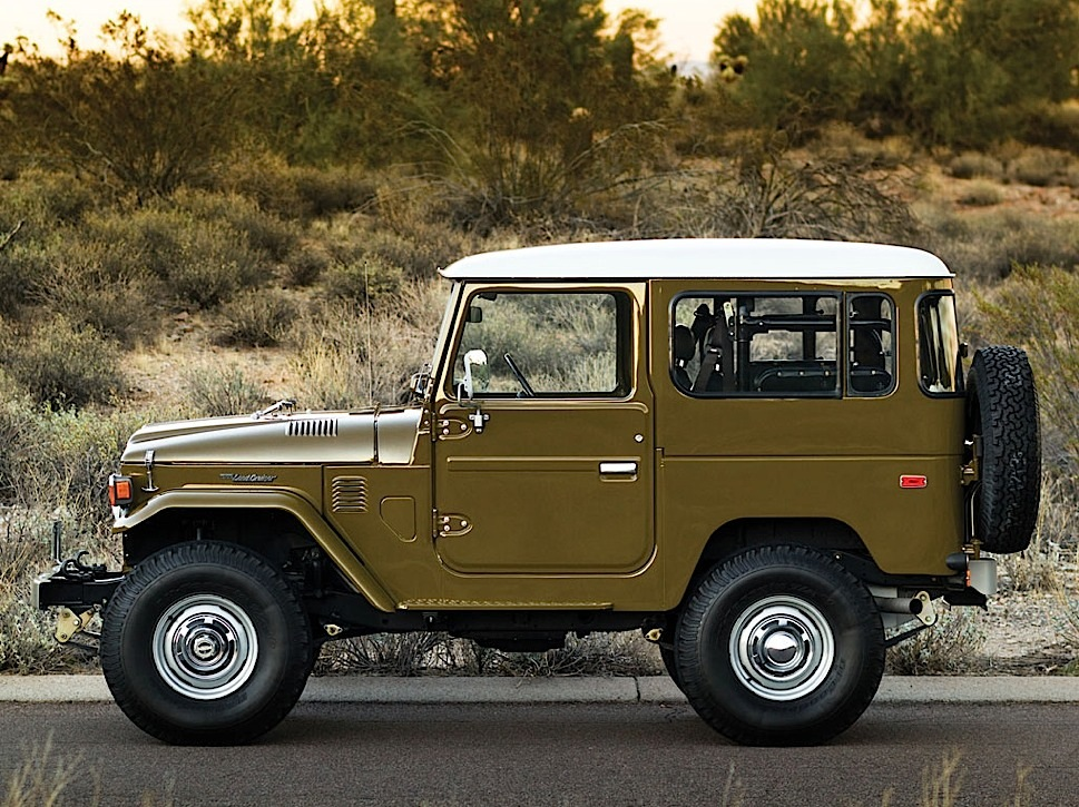 1977 Toyota Land Cruiser FJ 40 Sold for over $100,000 - autoevolution
