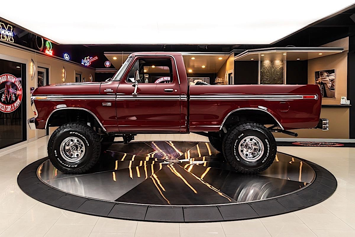 1978 Ford F 150 Is Here To Put All Custom Chevys To Shame Autoevolution