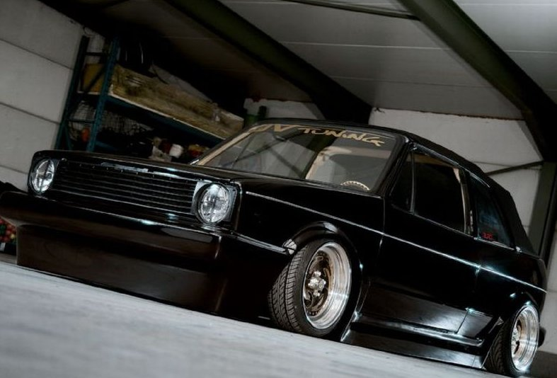 Electric Golf Caddy >> 1980 VW Golf Cabriolet Gets Ultimately Tuned - autoevolution