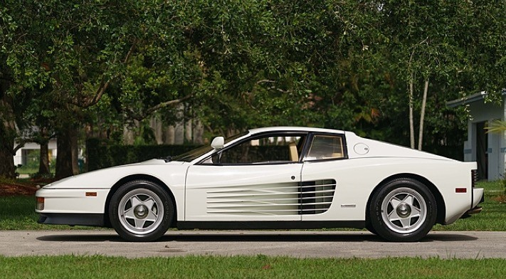 1986 Ferrari Testarossa Miami Vice Hero Car Goes To