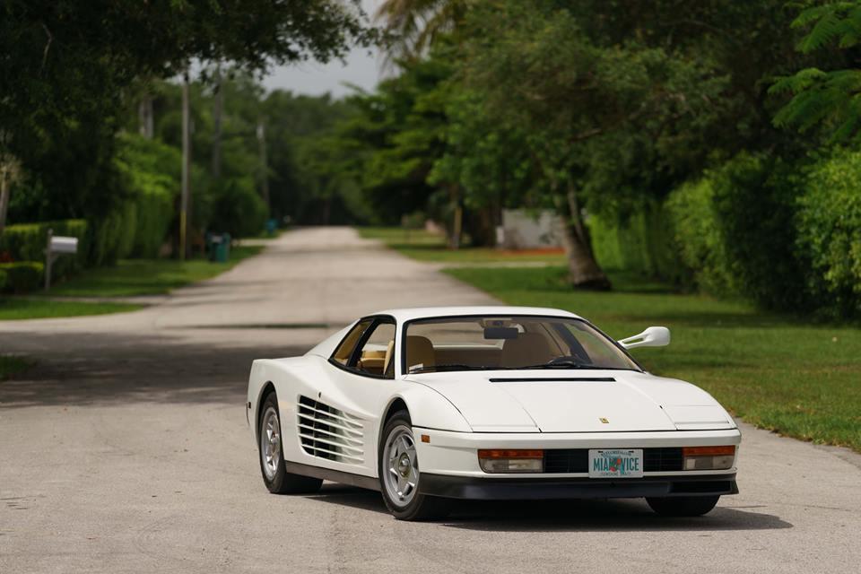1986 Ferrari Testarossa Miami Vice Hero Car Goes To