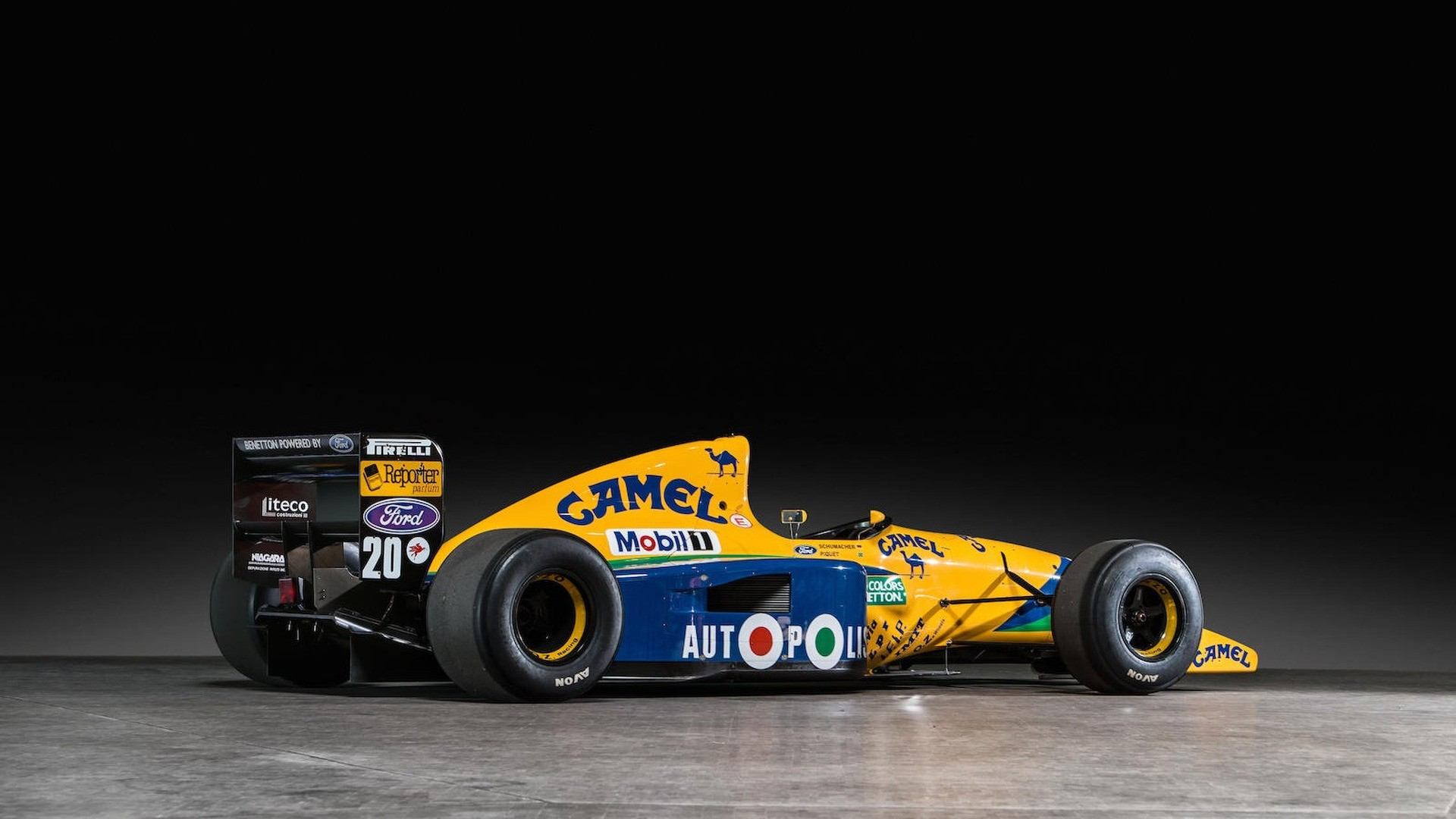 1991 Benetton Formula 1 Car Heading To Auction Autoevolution