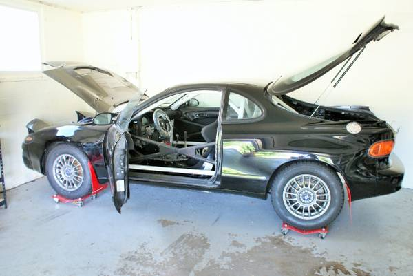 1991 Toyota Celica 4x4 Rally Built Is for Sale - autoevolution