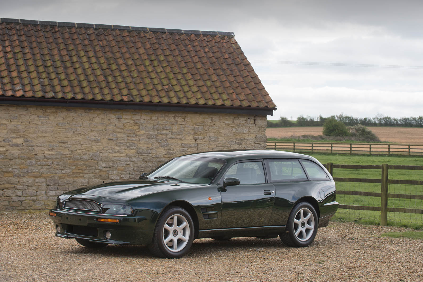 the aston martin v8 sportsman estate is not your typical wagon