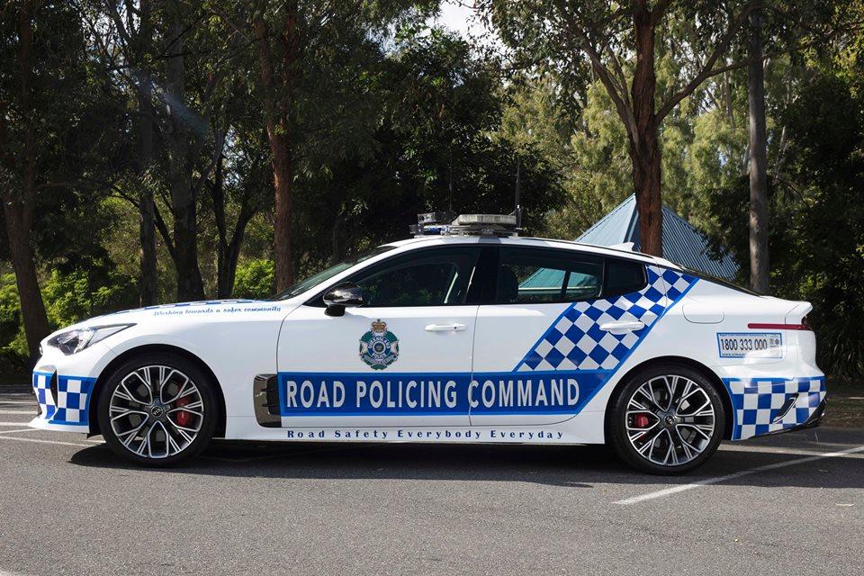 Australia police Kia Stinger GT