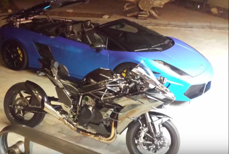 2 000 hp lamborghini gallardo street races 270 hp kawasaki ninja h2 past 200 mph autoevolution. Black Bedroom Furniture Sets. Home Design Ideas
