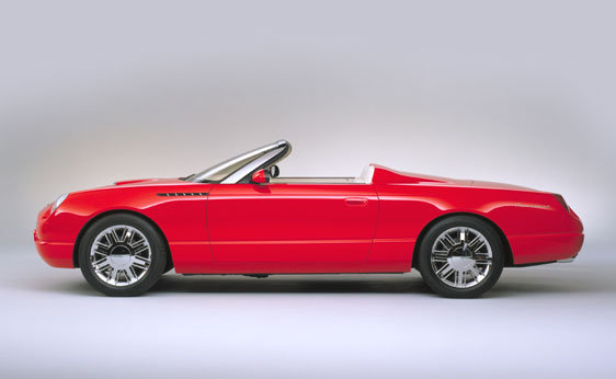 Wonderful ... 2001 Ford Thunderbird Sports Roadster Concept Car Great Pictures