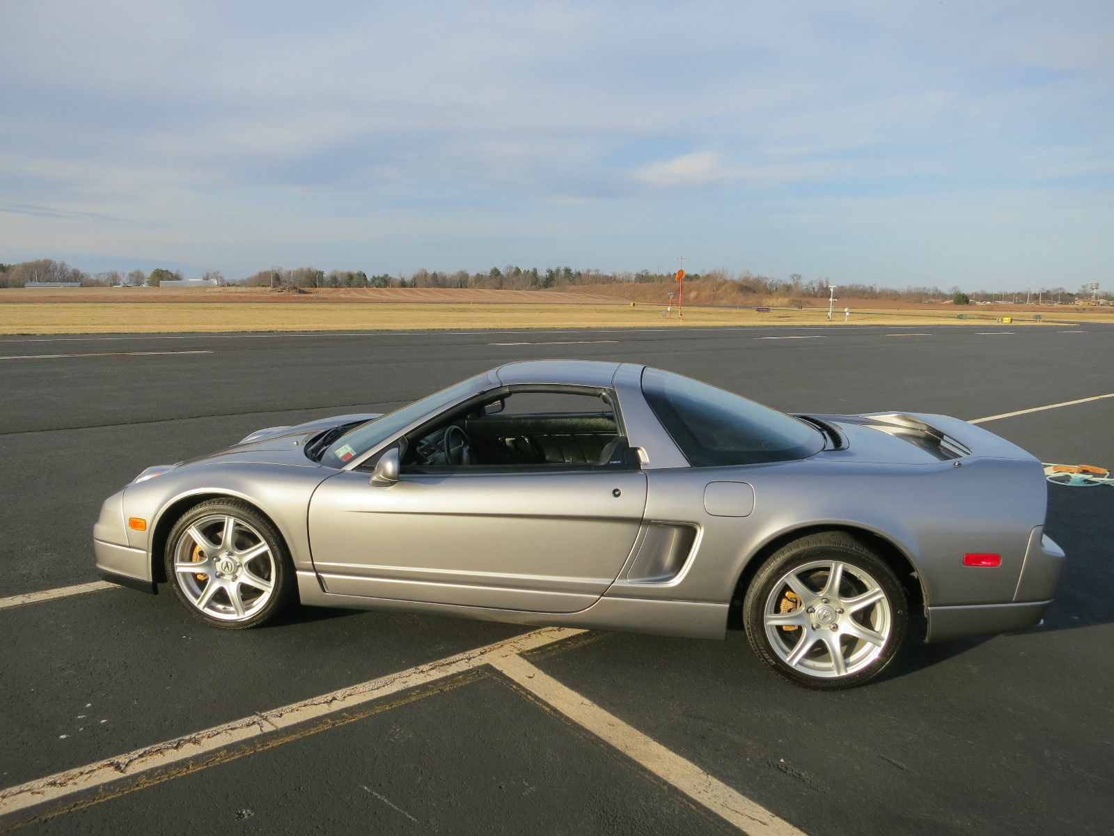 2002 acura nsx targa with only 7 500 miles for sale on ebay