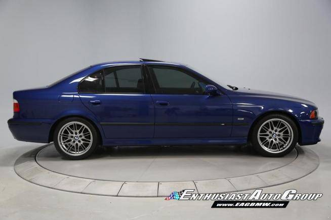 2002 bmw e39 m5 with 6 555 miles for sale autoevolution. Black Bedroom Furniture Sets. Home Design Ideas