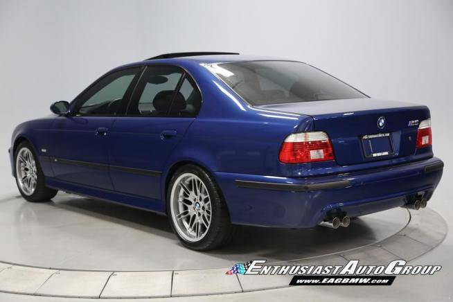 2002 Bmw E39 M5 With 6 555 Miles For Sale Autoevolution