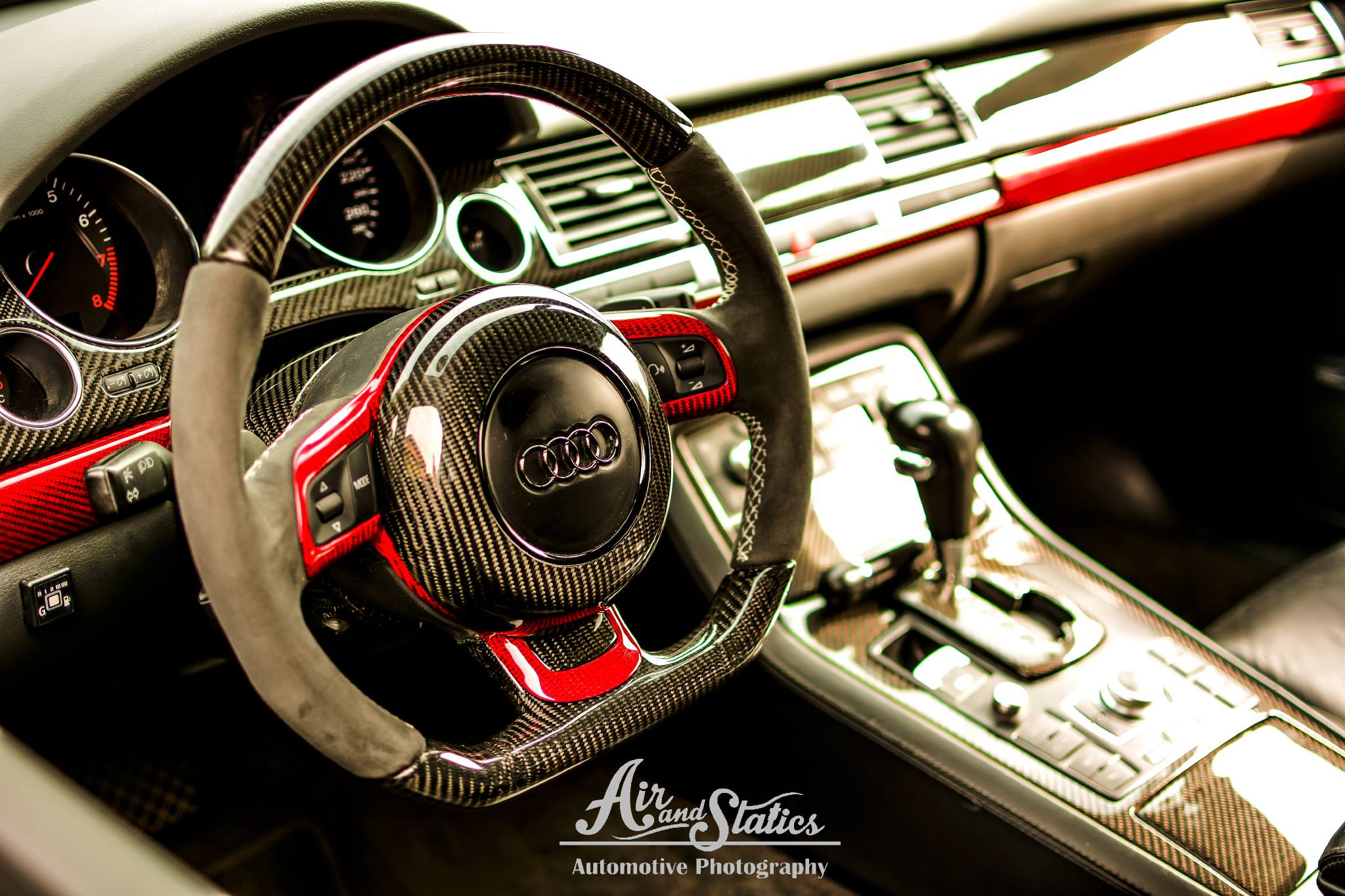 2004 Audi A8 D3 Gets Radi8 Wheels And Carbon Interior Looks Stunning Autoevolution