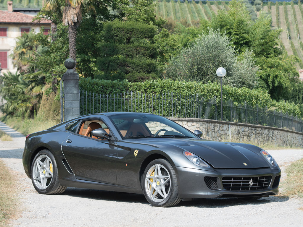Manual Ferrari 599 GTB Fiorano Heading to Auction  autoevolution