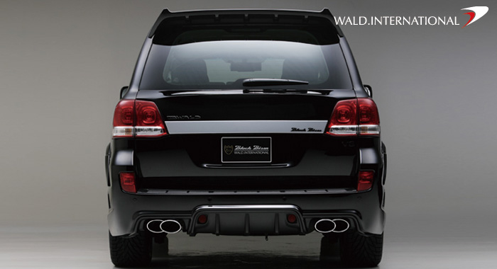 2008 toyota land cruiser got pimped black bison edition autoevolution. Black Bedroom Furniture Sets. Home Design Ideas