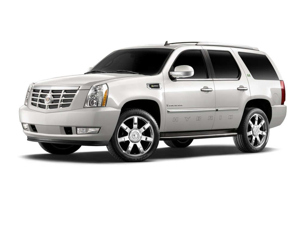 2009 cadillac escalade platinum hybrid launched