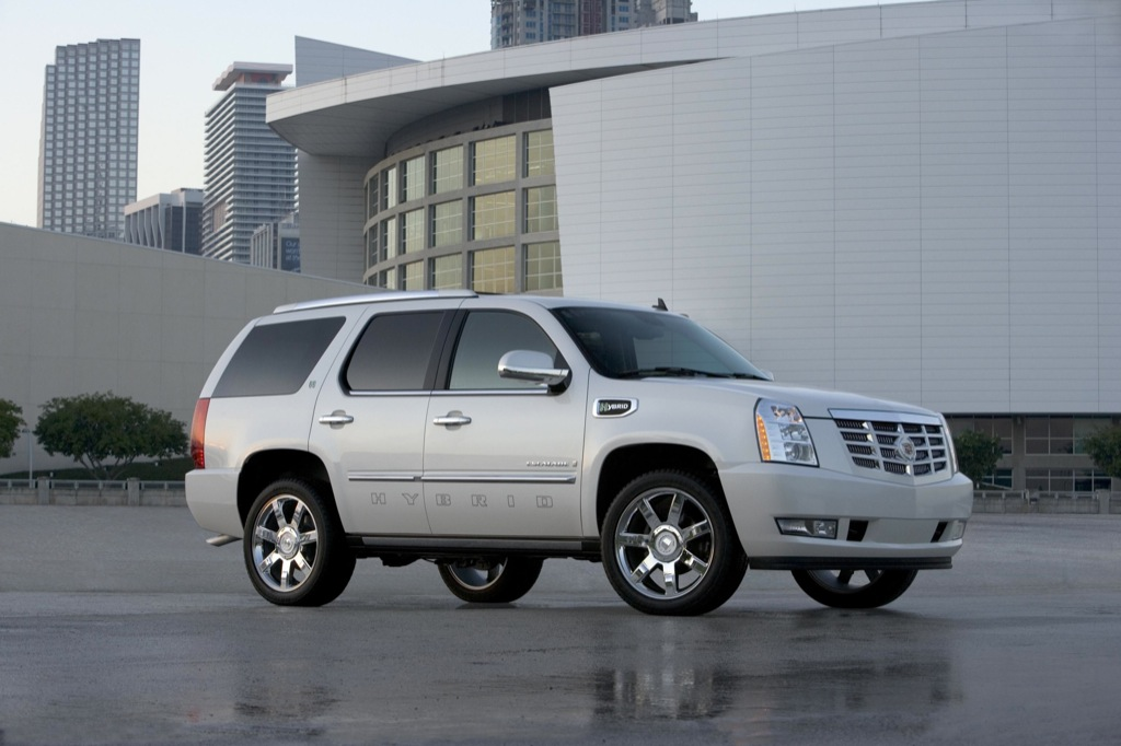 2009 cadillac escalade platinum hybrid launched autoevolution. Black Bedroom Furniture Sets. Home Design Ideas