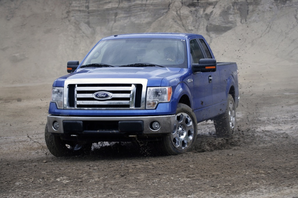 2009 ford f 150 officially the safest pickup in the us autoevolution. Black Bedroom Furniture Sets. Home Design Ideas