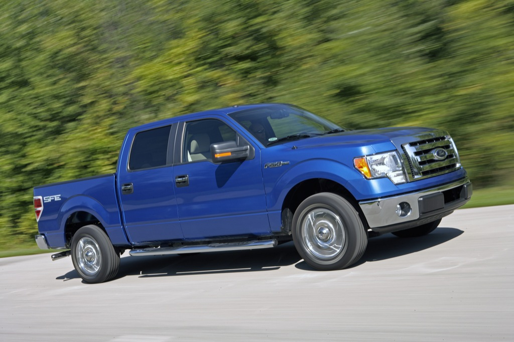 2009 ford f 150 officially the safest pickup in the us. Black Bedroom Furniture Sets. Home Design Ideas