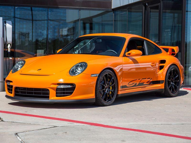 2009 Porsche 911 GT2 in PTS Orange for Sale at $410,000 ...