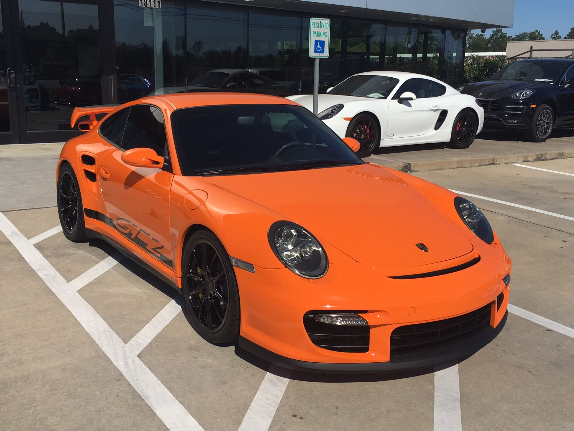 2009 porsche 911 gt2 in pts orange for sale at 410 000 autoevolution. Black Bedroom Furniture Sets. Home Design Ideas