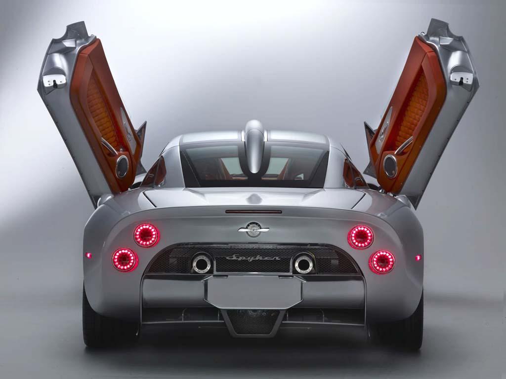 2009 Spyker C8 Aileron Unveiled At Geneva