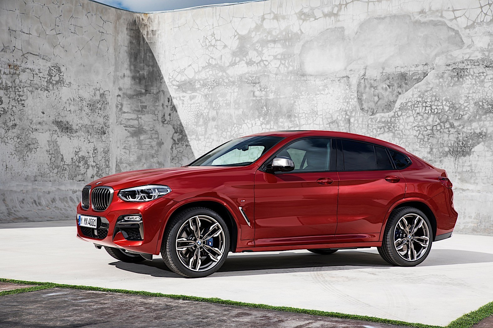 2019 Bmw X4 G02 Rendered Based On All New X3 Autoevolution