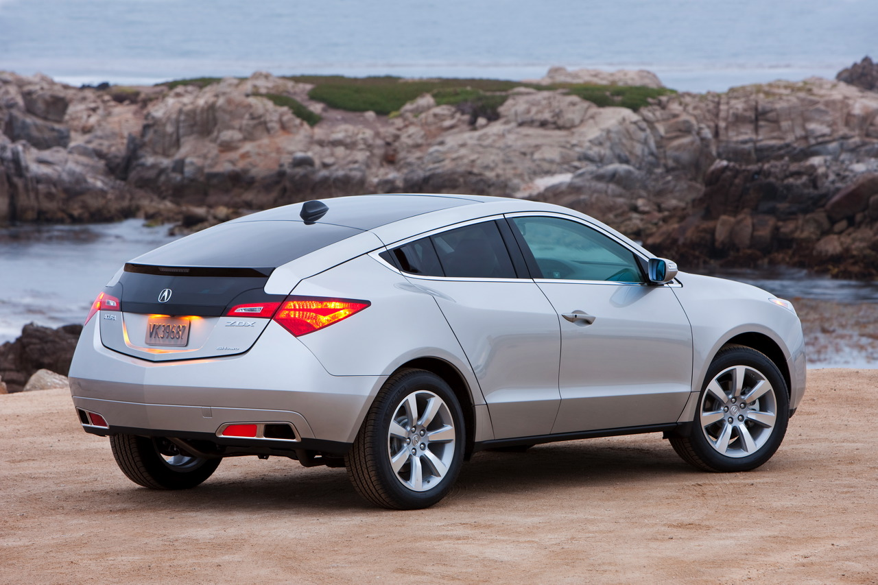 2010 acura zdx full specifications autoevolution. Black Bedroom Furniture Sets. Home Design Ideas