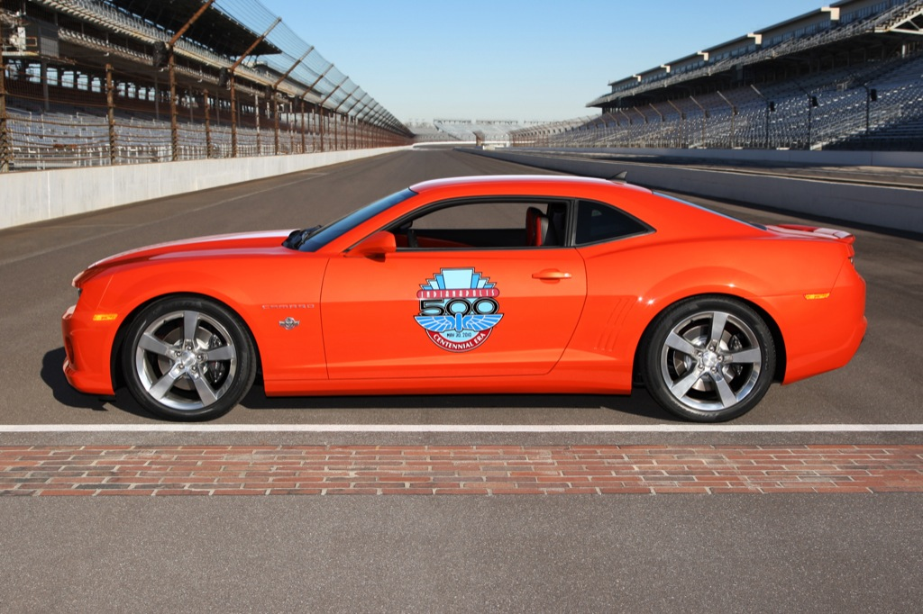 2010 camaro ss indianapolis 500 pace car unveiled autoevolution