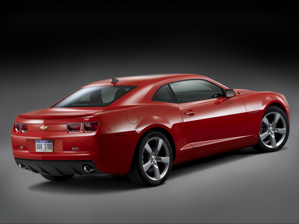 2010 Chevrolet Camaro Accessories Announced Autoevolution