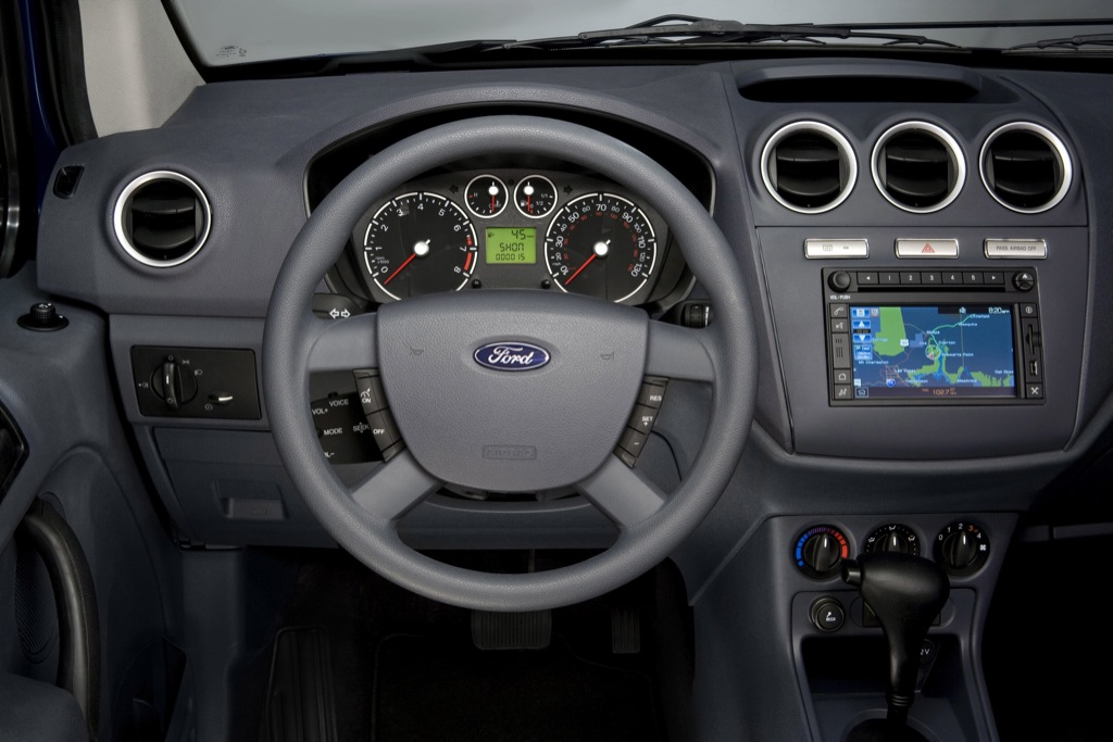 2010 Ford Transit Connect Officially Unveiled  autoevolution