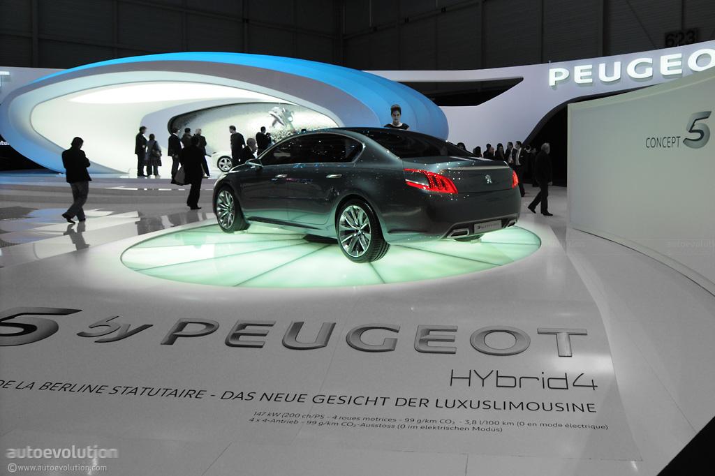 2010 Geneva Auto Show 5 By Peugeot Live Photos Autoevolution